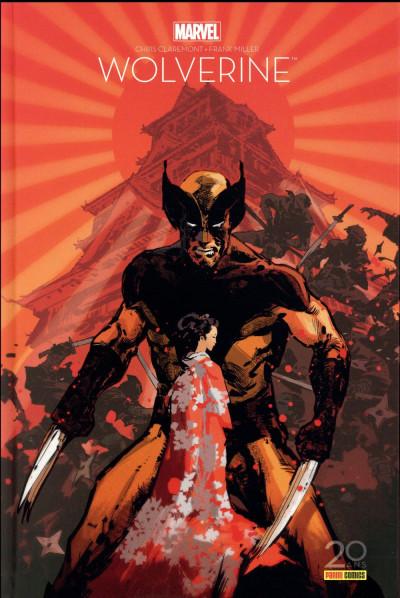 Couverture Wolverine - édition 20 ans
