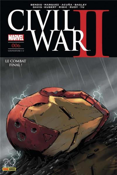Couverture Civil war II tome 6 - cover 1/2