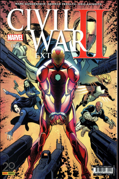 Couverture Civil war II - extra tome 5