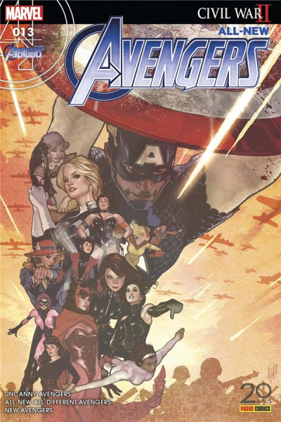 Couverture All-New Avengers tome 13