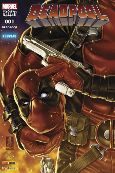 Couverture Deadpool tome 1
