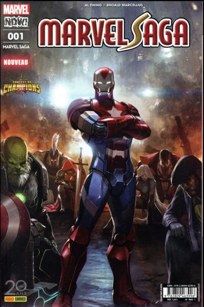Couverture Marvel saga tome 1