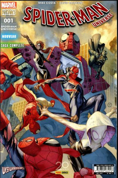 Couverture Spider-Man universe tome 1
