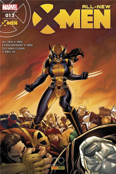 Couverture All-New X-Men tome 13