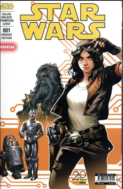 Couverture Star Wars - fascicule série 2 tome 1 - cover 2/2