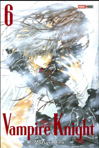 Couverture Vampire knight - édition double tome 6