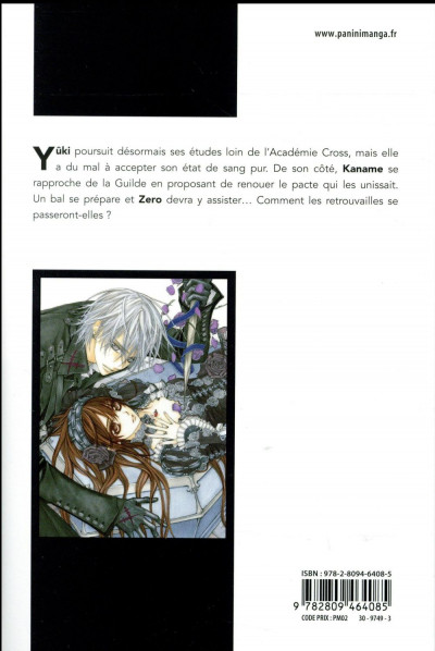 Dos Vampire knight - édition double tome 6