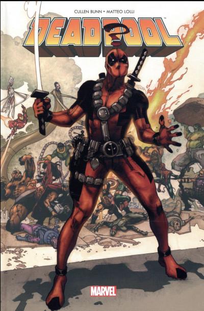 Couverture Deadpool - Les guerres très très secrètes