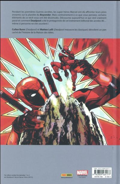 Dos Deadpool - Les guerres très très secrètes