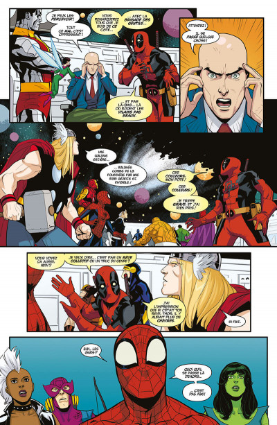 Page 0 Deadpool - Les guerres très très secrètes
