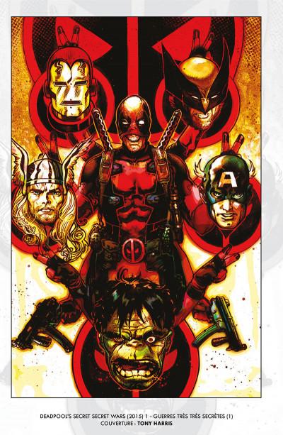Page 5 Deadpool - Les guerres très très secrètes