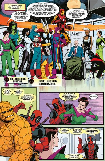 Page 7 Deadpool - Les guerres très très secrètes