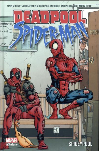 Couverture Deadpool / Spider-Man