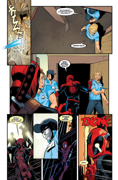 Page 0 Deadpool / Spider-Man
