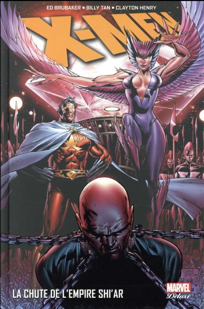 Couverture X-Men - La chute de l'empire Shiar