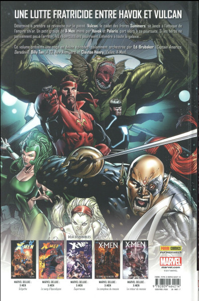 Dos X-Men - La chute de l'empire Shiar