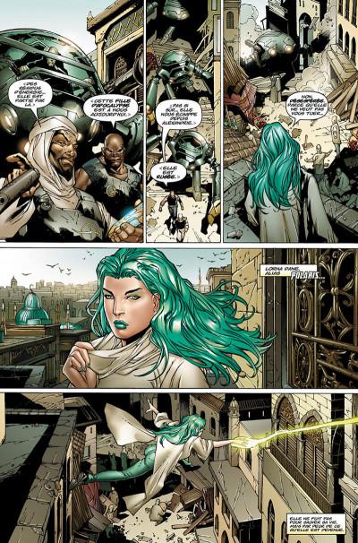 Page 0 X-Men - La chute de l'empire Shiar