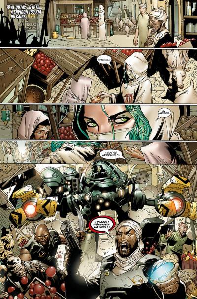 Page 9 X-Men - La chute de l'empire Shiar