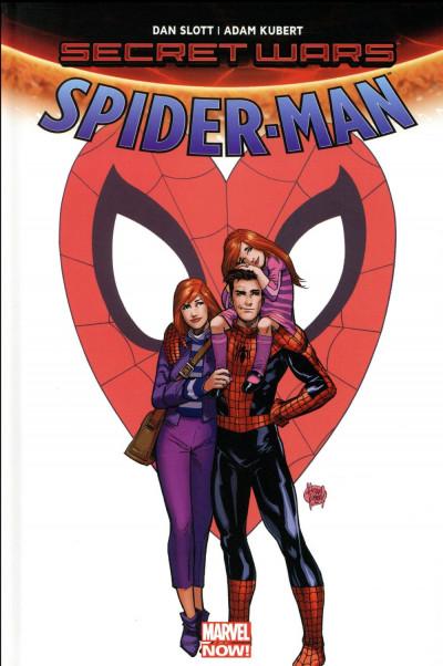 Couverture Secret wars - Spider-Man - Renew your vows