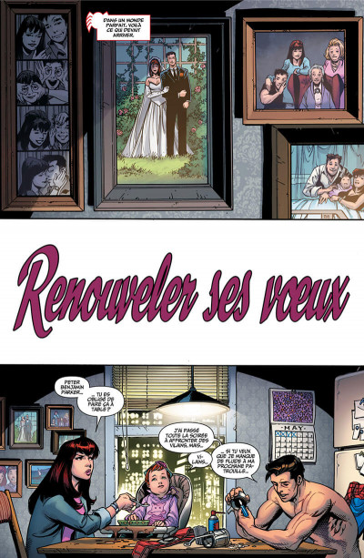Page 6 Secret wars - Spider-Man - Renew your vows