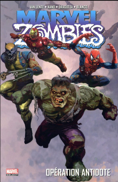 Couverture Marvel zombies tome 3