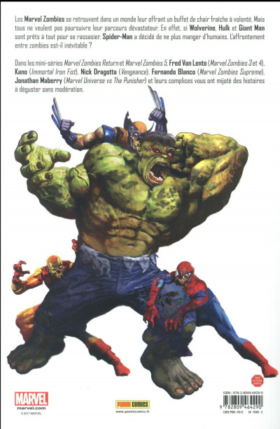 Dos Marvel zombies tome 3