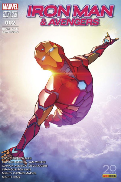 Couverture Iron man & Avengers tome 2