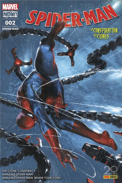 Couverture Spider-Man tome 2
