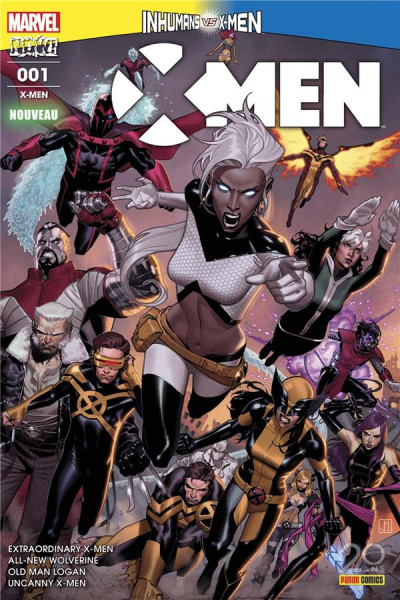 Couverture X-Men tome 1