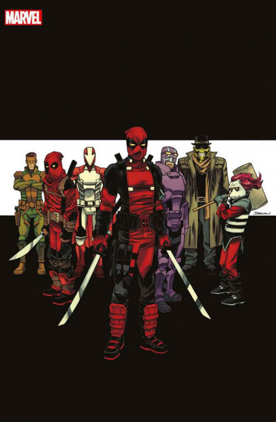 Couverture All-New Deadpool tome 9 - variant Angoulême