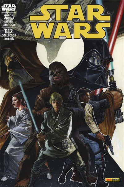 Couverture Star wars fascicule tome 12 - variant Angoulême
