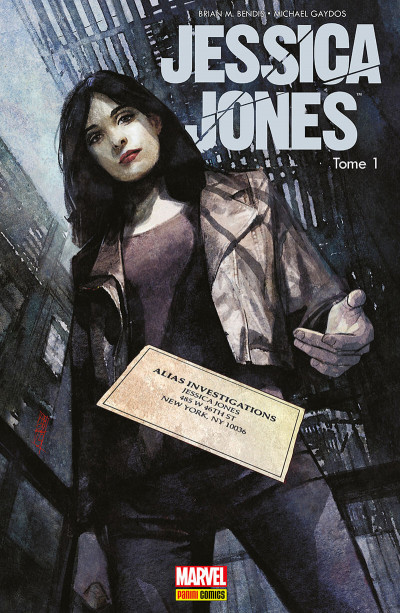 Couverture Jessica Jones tome 1