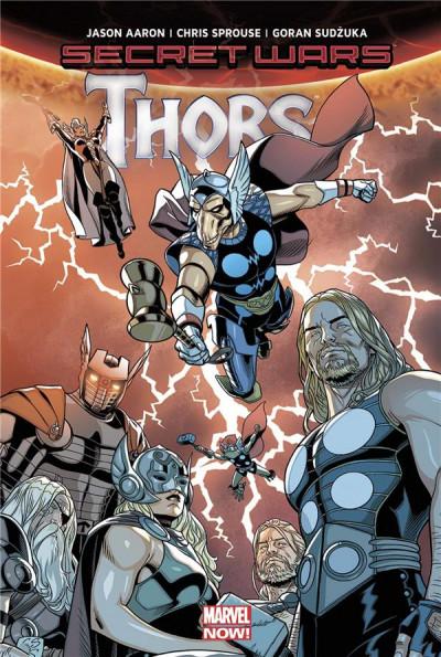 Couverture Thors - Secret wars