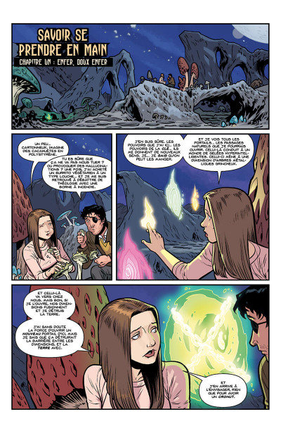 Page 5 Buffy contre les vampires - saison 10 tome 6