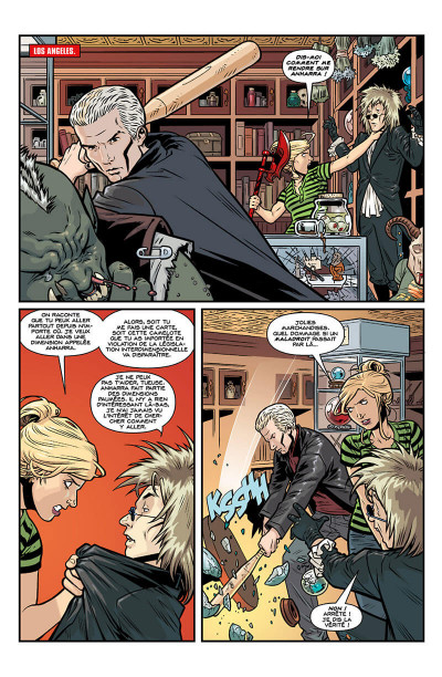 Page 8 Buffy contre les vampires - saison 10 tome 6