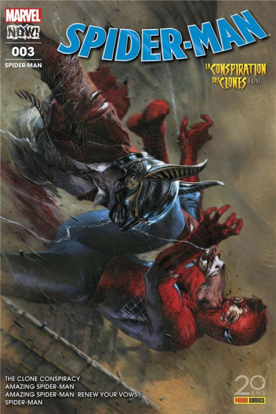 Couverture Spider-man tome 3