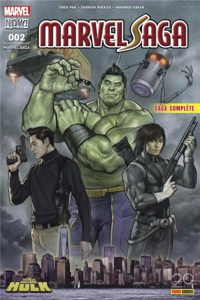 Couverture Marvel saga tome 2