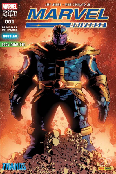 Couverture Marvel universe tome 1