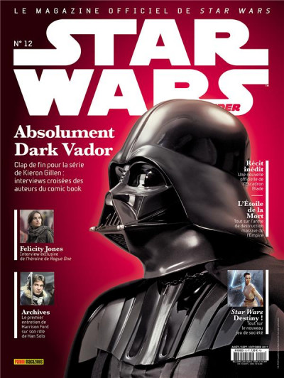 Couverture Star wars insider - série 2 tome 1