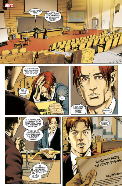 Page 7 Spider-man - le pouvoir au peuple