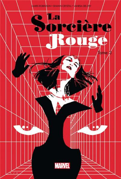 Couverture La sorcière rouge tome 3