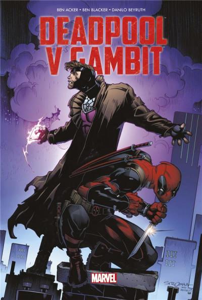 Couverture Deadpool vs Gambit