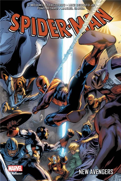 Couverture Spider-man - new Avengers