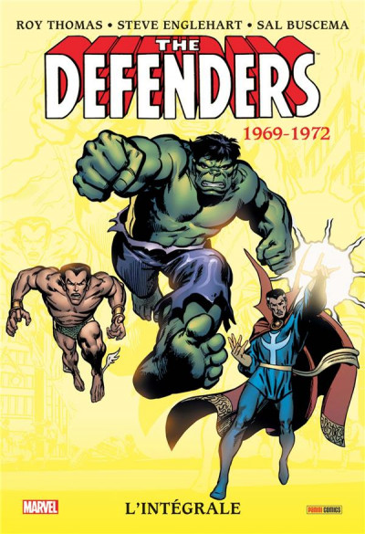 Couverture Defenders - intégrale tome 1 - 1972 (I)