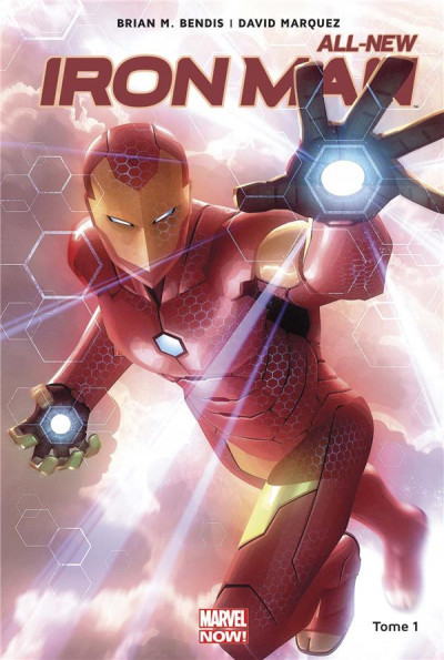 Couverture All-new Iron Man tome 1