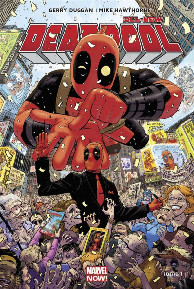 Couverture All-New Deadpool tome 1