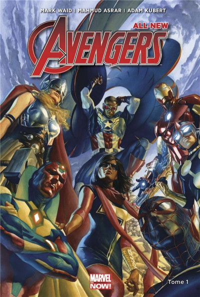 Couverture All new Avengers tome 1