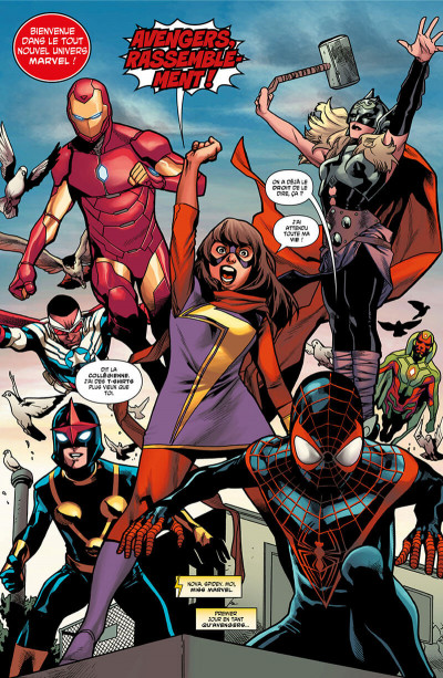 Page 6 All new Avengers tome 1