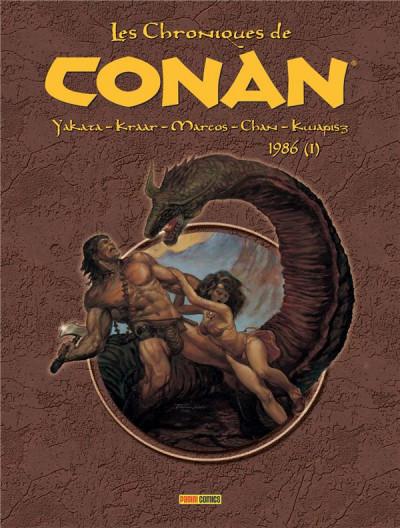 Couverture Les chroniques de Conan tome 21 - 1986 (I)