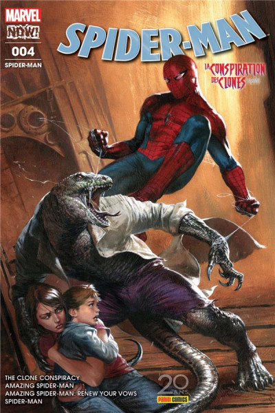 Couverture Spider-man tome 4
